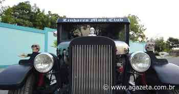 Com motor de Chevette, morador de Aracruz constrói réplica de carro de 1932 - A Gazeta ES