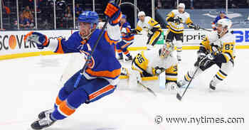With Fans in Full Throat, Islanders Upset Penguins in Round One