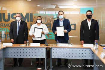 Sedeco y Ayuntamiento de Zacapu firman convenio para crear Espacio Emprendedor - Altorre