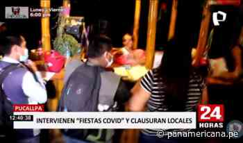 Pucallpa: decenas de intervenidos tras operativo en locales nocturnos | Panamericana TV - Panamericana Televisión