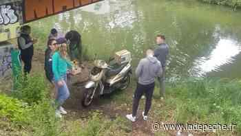 Ramonville-Saint-Agne. Ils pêchent à l'aimant dans le canal - ladepeche.fr