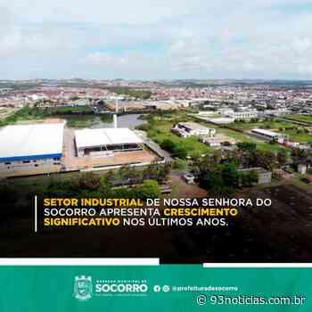 Setor industrial de Nossa Senhora do Socorro apresenta crescimento significativo nos últimos anos - 93Notícias