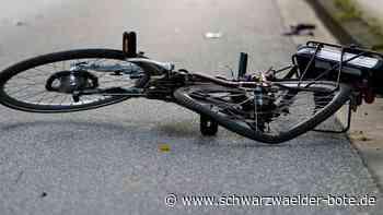 Unfall mit Pedelec - Radfahrerin verletzt sich bei Burladingen schwer - Schwarzwälder Bote