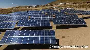 El parque solar de Cutral Co tendrá asesoramiento sanjuanino - Lmneuquen.com