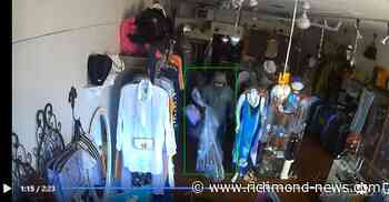Steveston fashion store robbed twice, video - Richmond News