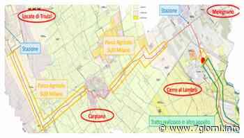 Melegnano, Carpiano, Cerro al Lambro e Locate di Triulzi: al via i lavori per la ciclabile intercomunale - 7giorni