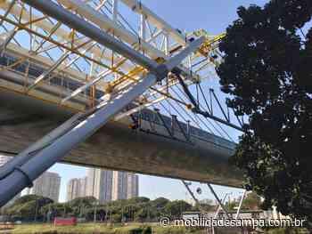 Obras de ampliação da Estação Santo Amaro iniciaram uma nova fase - Mobilidade Sampa