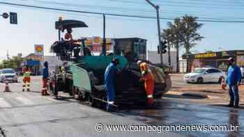 Santo Amaro terá obra de recapeamento em 10 km de vias a partir de 2ª feira - Campo Grande News