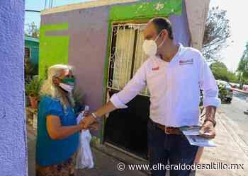 Apoyará Jericó con más presupuesto para obras hídricas en Saltillo - El Heraldo de Saltillo
