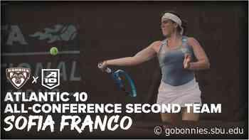 Franco Receives Atlantic 10 All-Conference Accolades - St. Bonaventure - St. Bonaventure
