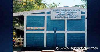 Saquean por tercera vez un centro escolar en Chirilagua, San Miguel - Solo Noticias