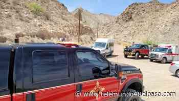 Realizan rescate en Monte Cristo Rey, una persona resultó herida - Telemundo 48 El Paso