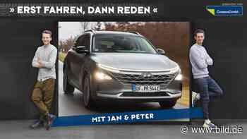 Auto-Podcast: Hyundai Nexo, Leberwurst-Metallic und die Brennstoffzelle - BILD