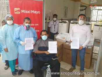 Sechura: Miski Mayo dona concentradores de oxígeno a Bernal y Vice - El Regional