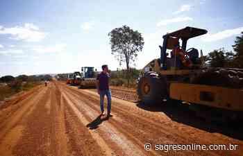 Goiás retoma obras da GO-174, entre Diorama e Montes Claros - Sagres Online - Sagres Online