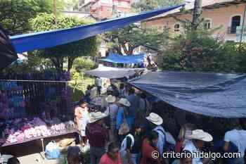 Desacatan las medidas en el mercado local de San Bartolo Tutotepec - Criterio Hidalgo
