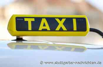 Taxifahrer in Backnang attackiert - Fahrgast wird handgreiflich - Stuttgarter Nachrichten