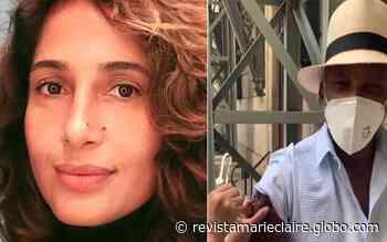 """""""Uma felicidade que não cabe em mim"""", diz Camila Pitanga sobre imunização do pai - Marie Claire"""