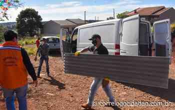 Prefeitura de Pitanga inicia entrega de telhas para famílias atingidas pelas chuvas – Correio do Cidadão - Correio do CIdadão