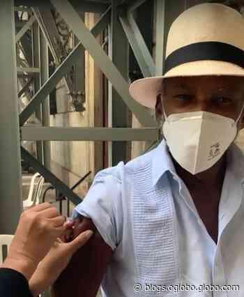 Antônio Pitanga toma segunda dose da vacina contra a Covid-19 e fala da mistura de sentimentos - Jornal O Globo