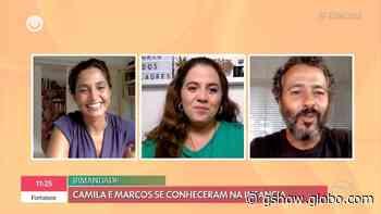 Marcos Palmeira celebra amizade antiga com Camila Pitanga: 'Conheço desde pequenininha' - gshow