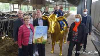 """Für nachhaltiges Wirtschaften: """"Goldene Olga"""" für Milchviehalter Hartmut Börger aus Wietmarschen - noz.de - Neue Osnabrücker Zeitung"""