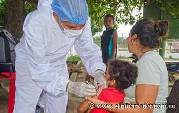 Exitosa Jornada de Intensificación de la Vacunación en el Municipio de Algarrobo - El Informador - Santa Marta