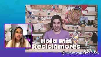 Sará Samaniego, la mujer detrás de 'Marce, la recicladora' - Canal RCN
