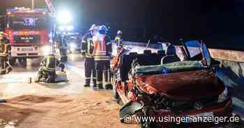 Zwei Schwerverletzte bei Unfall auf A5 bei Friedrichsdorf - Usinger Anzeiger