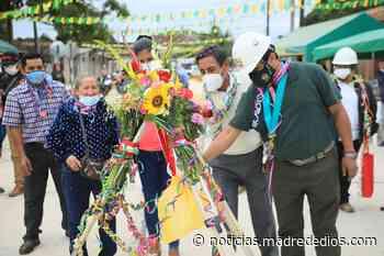Municipalidad de Tambopata inaugura obra de pavimentación en el jirón Mariano Melgar - Radio Madre de Dios