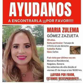Localizan sin vida a María Zulema en Nogales, Sonora - La Jornada