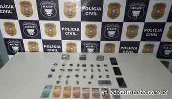 Dois suspeitos de traficar drogas nos bairros Vila Catarina e Jardim Marialva são presos em flagrante - O Documento