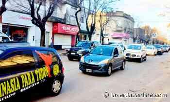 Comerciantes de Bragado se manifestaron contra las restricciones del Gobierno - Diario La Verdad Junín