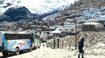 Puno: mineros exigen declarar en emergencia a La Rinconada - LaRepública.pe