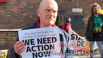 Tower Hamlets mayor speaks at George Floyd rally - East London Advertiser