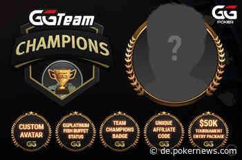 Werden Sie das erste Mitglied im GGPoker Team Champions?