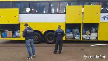 Receita Federal retém dois ônibus em Santa Terezinha de Itaipu - CGN