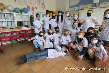 Kinderen sluiten weerbaarheidsproject af - Het Nieuwsblad