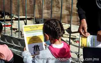 Arrojan a niños por el Muro como distracción para trasiego de droga - El Heraldo de Chihuahua