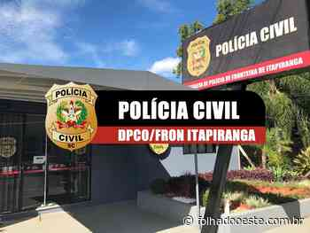 Polícia Civil de Itapiranga prende suspeito de crime - Cidades - Folha do Oeste