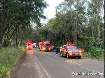 Quatro pessoas morrem em acidente com carro e caminhão em Itapiranga - ND Mais