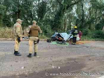 Quatro pessoas morrem em acidente em Itapiranga - Jornal Folha do Noroeste