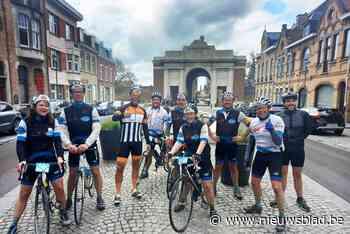 't Groot Verzet fietst voor Kom op tegen Kanker