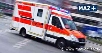 Zwei Verletzte bei Auffahrunfall in Gransee - Märkische Allgemeine Zeitung