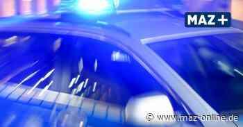 Gransee: Betrunkener Randalierer landet im Gewahrsam - Märkische Allgemeine Zeitung