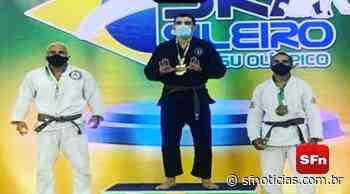 Atleta de Itaocara conquista medalha de prata no Campeonato Brasileiro de Jiu-Jitsu Olímpico - SF Notícias
