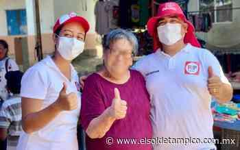 Julio Johnson continúa recorriendo Pueblo Viejo - El Sol de Tampico