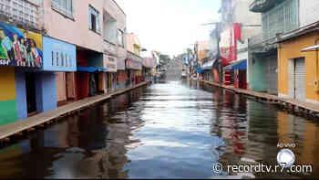 Rio do Pará atinge maior nível em 11 anos - Record TV