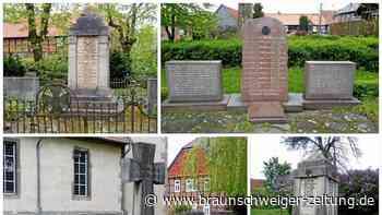 Ehrenmale der Gemeinde Cremlingen werden saniert - Braunschweiger Zeitung