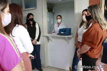 CAPS ad é referência durante visita de comitiva de Araguari - Defesa - Agência de Notícias